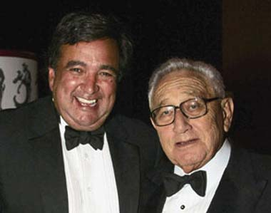 Henry Kissinger and Bill Richardson