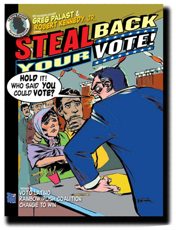 Steal Back Your Vote Comic Book