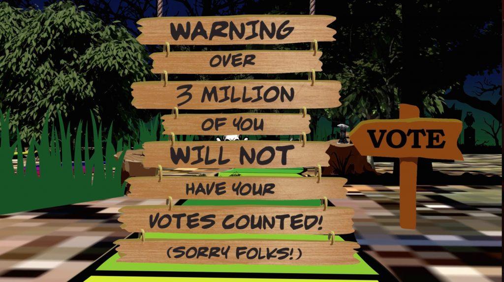 Voter purge
